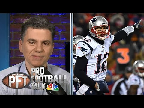Video: Tom Brady unstoppable in AFC Championship when game mattered most | Pro Football Talk | NBC Sports