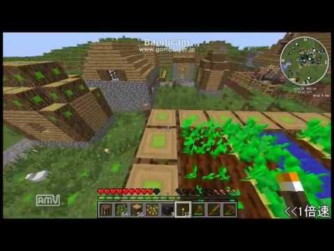 【Minecraft】RedPowerと竹MODでメイドさんと工業生活 Part.1【ゆっくり実況】