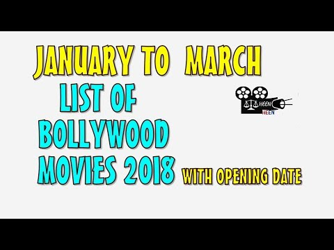 List Of Bollywood Films 2018 January To March With Opening Date