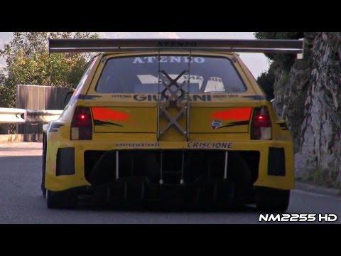 Hillclimb Cars Fly Bys - 42° Trofeo Vallecamonica 2012