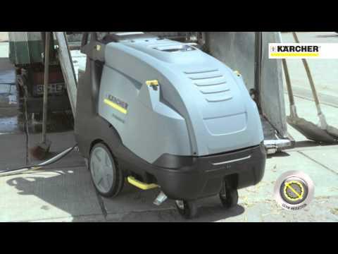 Kärcher - Vantaggi delle idropulitrici professionali a caldo