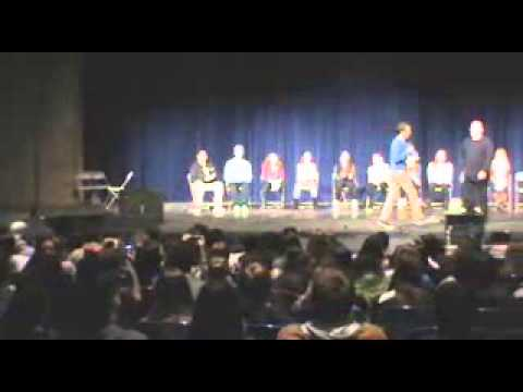 Hall's Annual Hypnotist Show 2014- The Music Starts