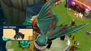 Video Alpha Shadow max level 124-new rare||Dragons rise of berk new update MP3, 3GP, MP4, WEBM, AVI, FLV Agustus 2018