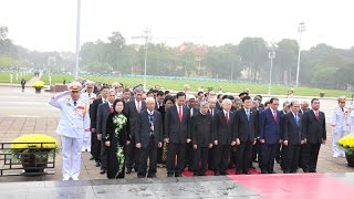 Lễ viếng cấp Nhà nước ngày 06 01 2016