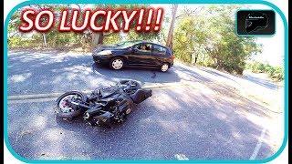 8. Totaled my Yamaha Fz10......