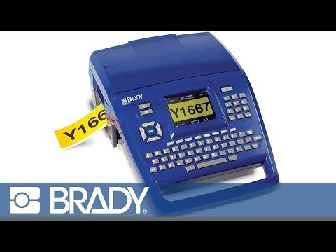 Label Printer - Brady BMP71  Video Image