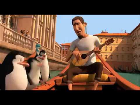Penguins of Madagascar Chase scene.