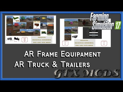 FS17 AR/Frame - Equipment Pack v1.0