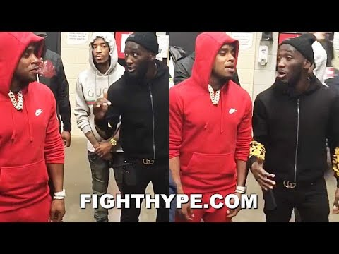 "TERENCE CRAWFORD WARNS ERROL SPENCE TO HIS FACE; SAYS HE HAS POWER TO STOP HIM: ""BE CAREFUL"""