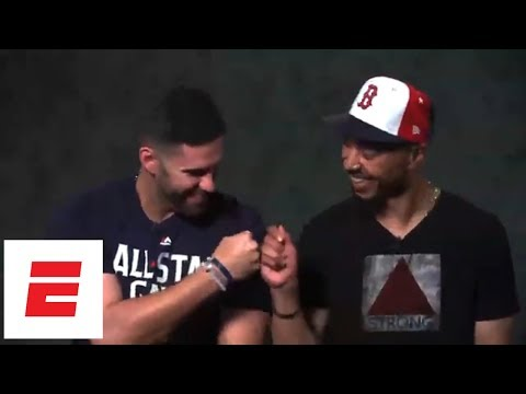 Red Sox Teammates Mookie Betts And J.d. Martinez Test How Well They Know Each Other | Espn