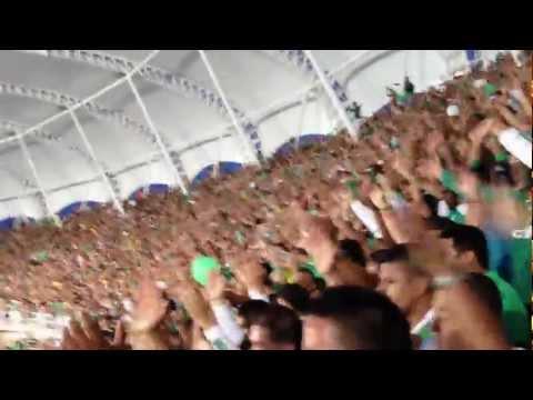 FRENTE RADICAL VERDIBLANCO - 1er Gol Tribuna sur CALI 3-1 nacioPAN - Frente Radical Verdiblanco - Deportivo Cali
