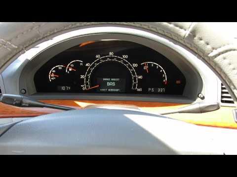 Mercedes-Benz W220 BAS ESP Airmatic Warning or Alarm. SIMPLE FIX!