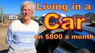 Video Living in a Car on $800 a Month MP3, 3GP, MP4, WEBM, AVI, FLV Januari 2018