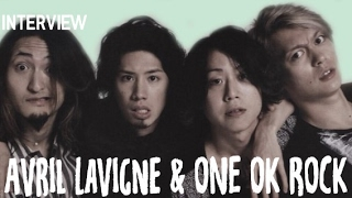 Video ONE OK ROCK X Avril Lavigne Interview MP3, 3GP, MP4, WEBM, AVI, FLV Oktober 2018