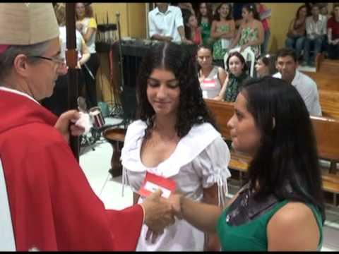 Crisma na Paróquia Nossa Senhora de Fátima na cidade de Monte Aprazível