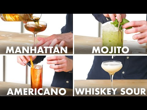 How To Mix Every Cocktail | Method Mastery | Epicurious