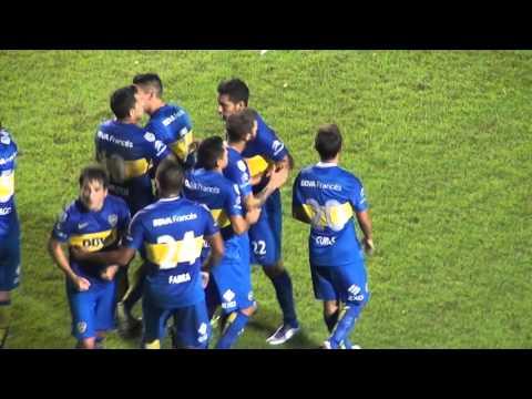 Boca Bolivar Lib16 / Gol de Gago - La 12 - Boca Juniors