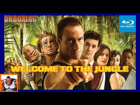Welcome to the Jungle Van Damme Blu Ray Unboxing