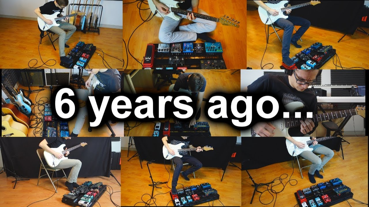 6 years ago, I started making ambient guitar videos. Now, its time to…