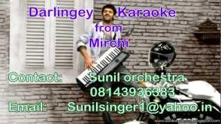 Darlingey karaoke Mirchi karaoke