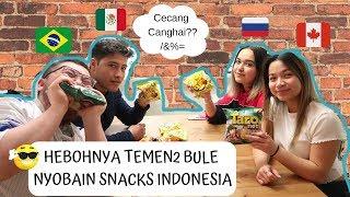 Video REAKSI TEMEN2 BULE NYOBAIN JAJANAN INDONESIA MP3, 3GP, MP4, WEBM, AVI, FLV April 2019