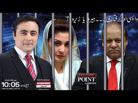 To The Point With Mansoor Ali Khan   15 July 2018   Express News (видео)