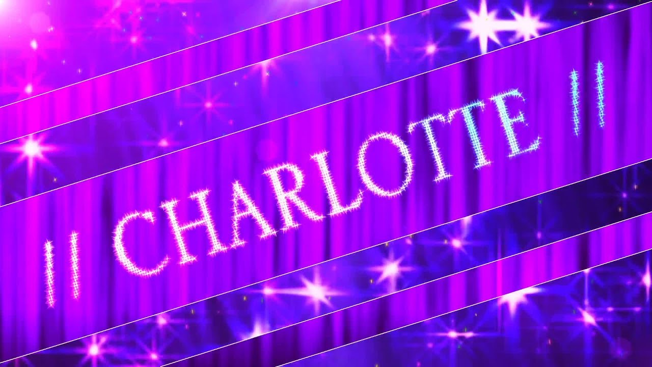 Charlotte entrance video