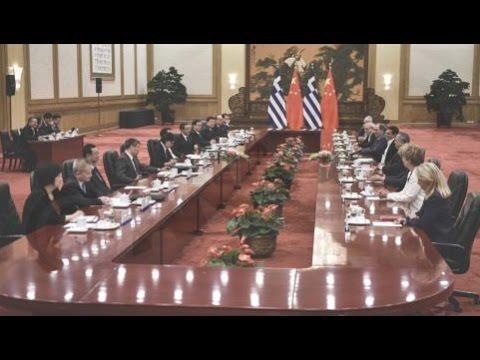 Έξι ελληνικές επενδυτικές προτάσεις, βάση της συζήτησης Ελλάδας και Κίνας