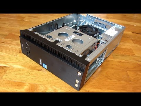 Acer Aspire Desktop   Small Form Factor Case Review   AXC-705
