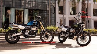 8. 2019 Triumph Scrambler 1200 XC and XE Models Unveiled | 2019 Triumph Scrambler 1200 XC/XE First Look