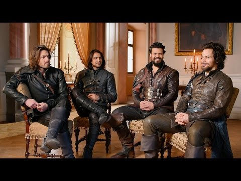 War, Villains And Reuniting - The Musketeers: Series 3 - BBC One