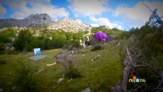 Mamet Cave Croatia - First Air Balloon Flight To The Underground