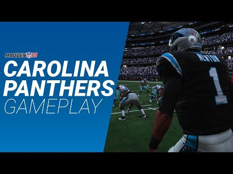 Madden 19 Online Gameplay Panthers vs Cowboys | vs. Gyvi World