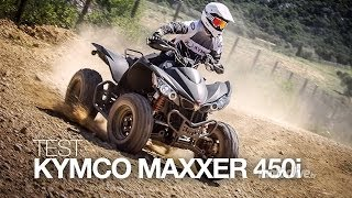2. TEST | KYMCO MAXXER 450i SE, tout en muscle !