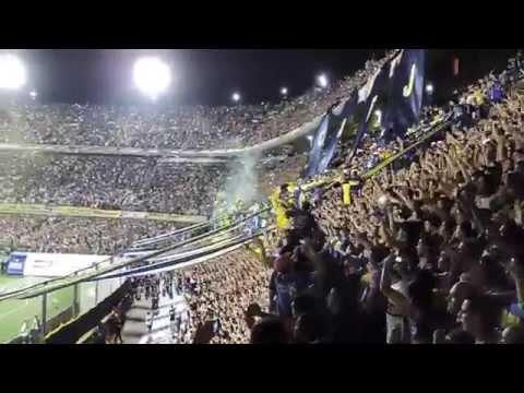 Video - Recibimiento Boca vs Cerro Porteño. 30/10/2014 - La 12 - Boca Juniors - Argentina