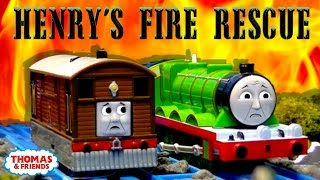 Thomas & Friends: Flaming Forests | Henry's Fire Rescue Episode #1 | Thomas & Friends