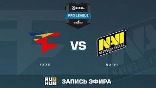 FaZe vs Na'Vi - ESL Pro League S6 EU - de_overpass [Enkanis, yXo]