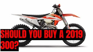 2. The 2019 KTM 300XC is the best overall trail machine, do you need one?