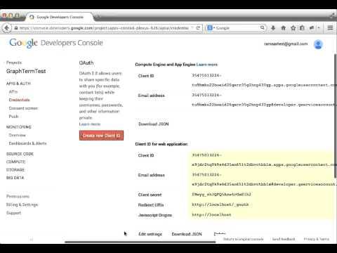 Google Authentication for GraphTerm server