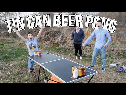 Tin Can Beer Pong Challenge   WheresMyChallenge