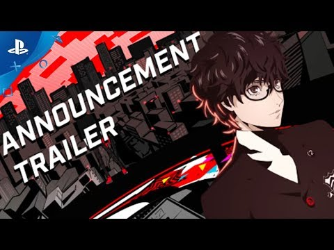 Trailer d'annonce de Persona 5 Dancing In Star Night