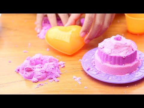 Unboxing Mainan Anak Kinetic Sand - Bermain Pasir Ajaib - Magic Sand