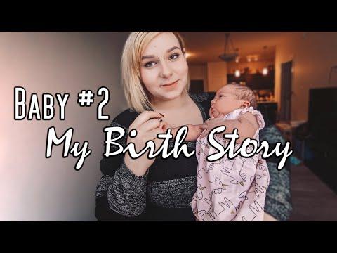 My Birth Story With Baby #2 | Meeting Aurora!