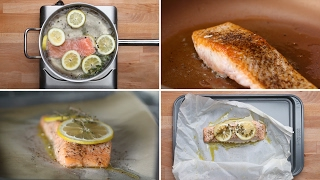 Customize & buy the Tasty Cookbook here: http://bzfd.it/2fpfeu5 Here is what you'll need! 4 Ways To Cook Salmon Poached ...