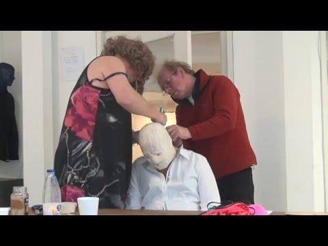 'Making of the Mask' (fragment), 2012, gemaakt door Jeanine Squirrel en Enno de Vos