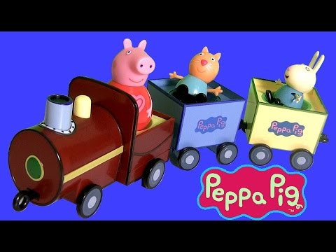 il - Disney Collector presents Peppa Pig Weebles pull-along Wobbly Train.