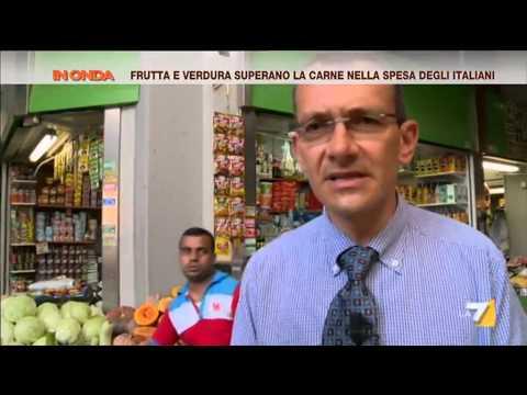 che provenienza hanno frutta e verdura che gli italiani acquistano?