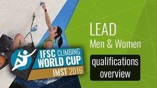 IFSC Climbing World Cup Imst 2016 - Semi-Finals Overview by International Federation of Sport Climbing