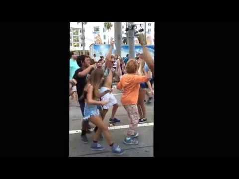 Music Brings People Together! 76 Year Old Woman Dancing Last Year At Sunfest
