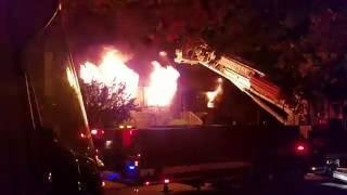 Lyndhurst (NJ) United States  city images : Lyndhurst New Jersey Residential Structure Fire (Major Fire Part) September 16, 2016